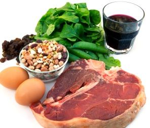 iron rich food